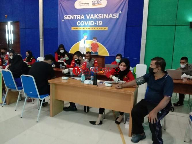 Polda Lampung Jadwalkan Vaksinasi Mahasiswa selama Dua Hari