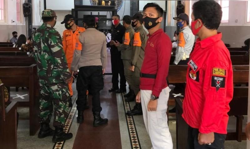 Polda Lampung Kerahkan 205 Personel Jaga Ibadah Jumat Agung
