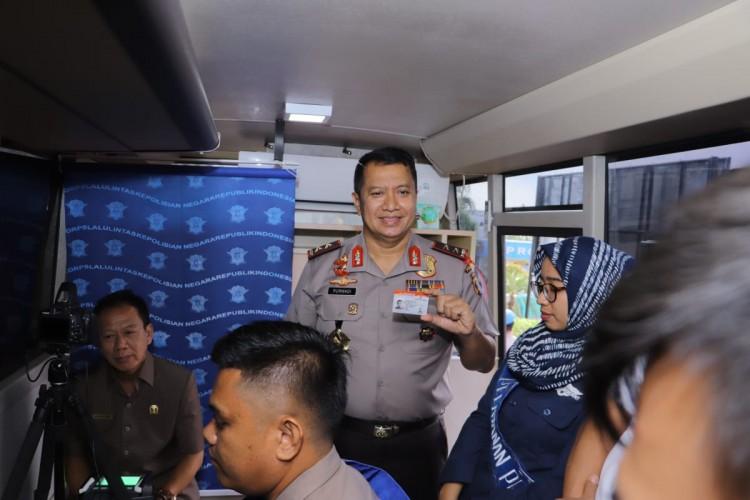 Polda Lampung Luncurkan Smart Sim