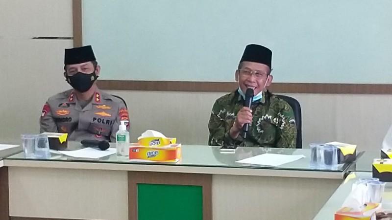 Polda Lampung - NU Siap Bersinergi Tangkal Radikalisme