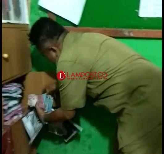 Polda Lampung OTT Kepsek dan Kabid Sapras Disdikbud Pesawaran