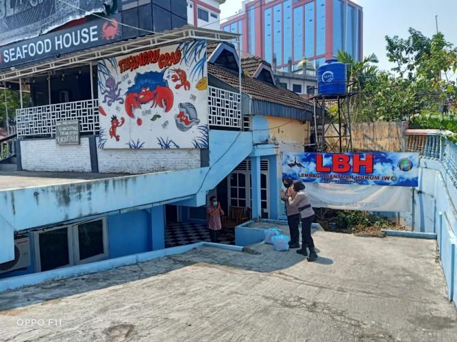 Polda Lampung Salurkan Bantuan untuk Wartawan Jalani Isoman