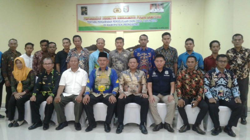 Polda Lampung Sosialisasi Pengawasan Dana Desa