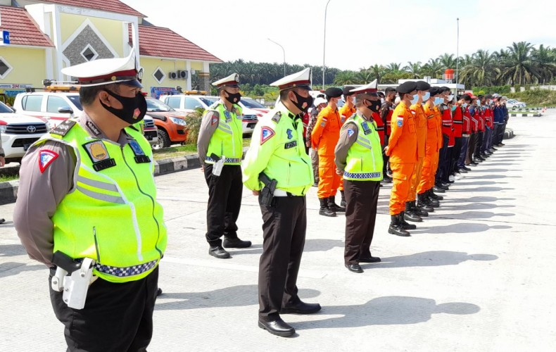Polda Lampung-Sumsel Sinergi Antisipasi Arus Mudik