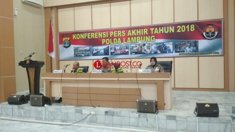 Polda Lampung Tangani 11 Kasus Tindak Pidana Korupsi di 2018