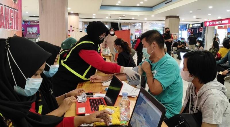 Polda Lampung Telah Vaksinasi 1.300 Warga