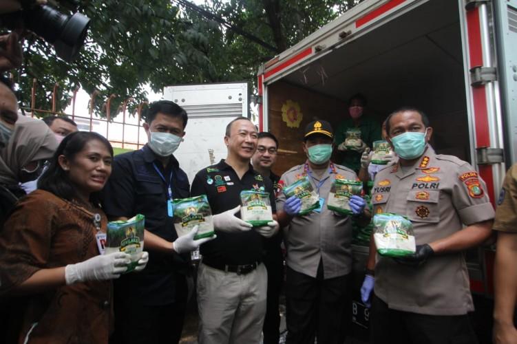 Polda Metro Jaya Edarkan Gula SGC