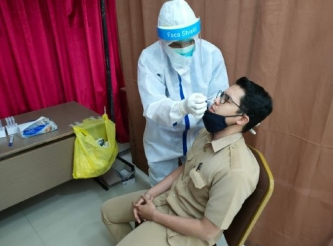 Polda Minta Tarif Tes Antigen CPNS di Lampung tak Lebih dari Rp275 Ribu