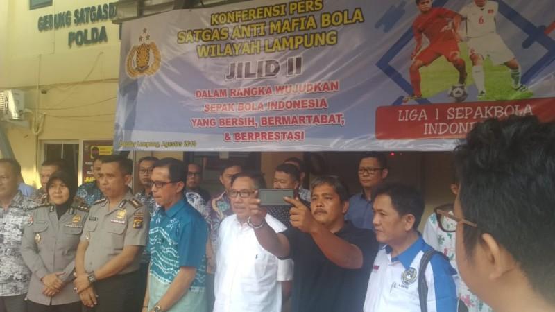 Polda Pantau Tiap Badak Lampung Berlaga