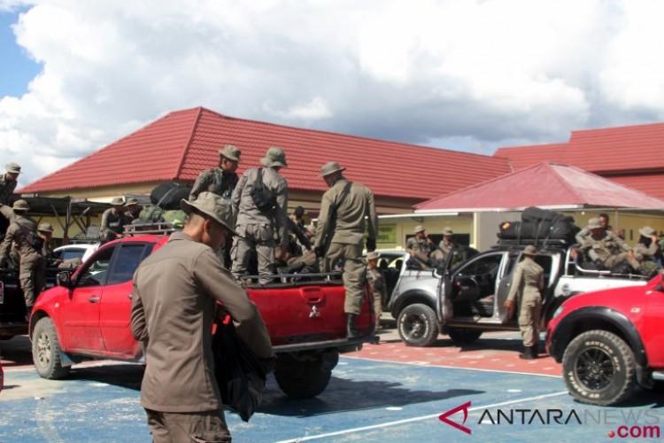 Polda Papua-TNI Kejar KKB Nduga