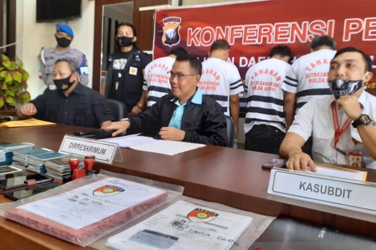 Polda Riau Ungkap Jaringan Pedagangan ABK