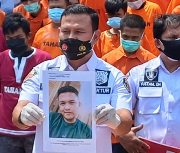 Polda Sebar Foto Buronan Jambret yang Tewaskan Nenek di Bandar Lampung