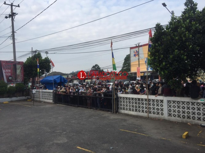 Polda: Tak Ada Vaksinasi di Pizza Hut Bandar Lampung