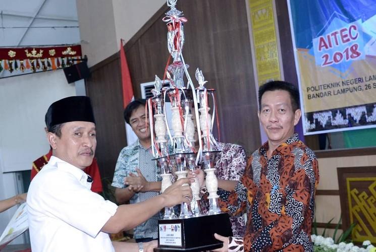 Polinela Raih Juara Umum AITEC