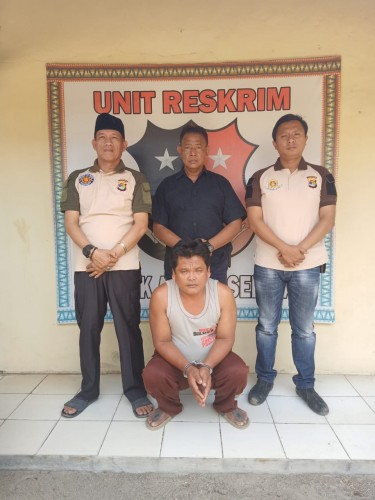 Polisi Abung Selatan Tangkap Supir Tersangka Pencabulan