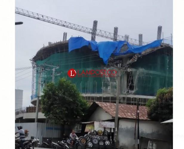 Polisi akan Panggil Pengawas Proyek Apartemen Ambrol di Bumi Waras