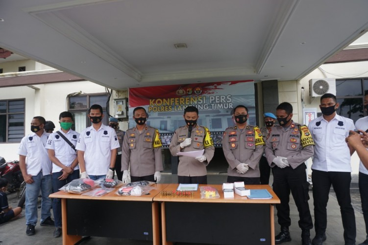 Polisi Amankan 54 Pelaku Kejahatan di Lamtim