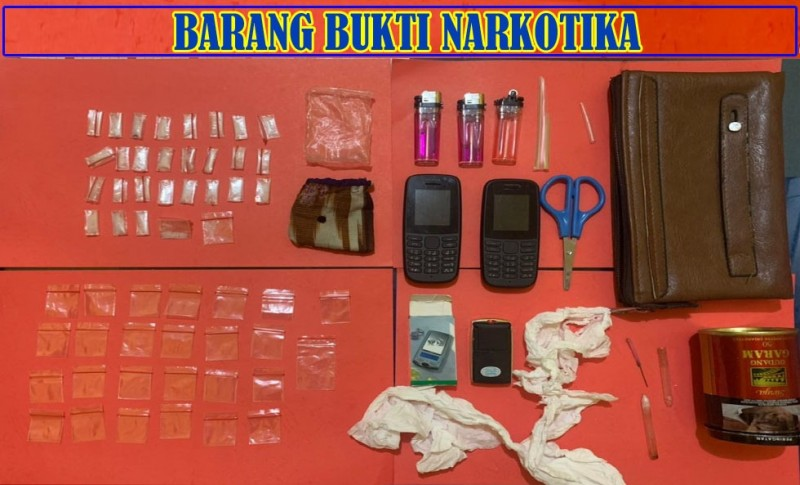 Polisi Amankan 6,42 Gram Sabu di Lapas Kelas IIB Way Kanan