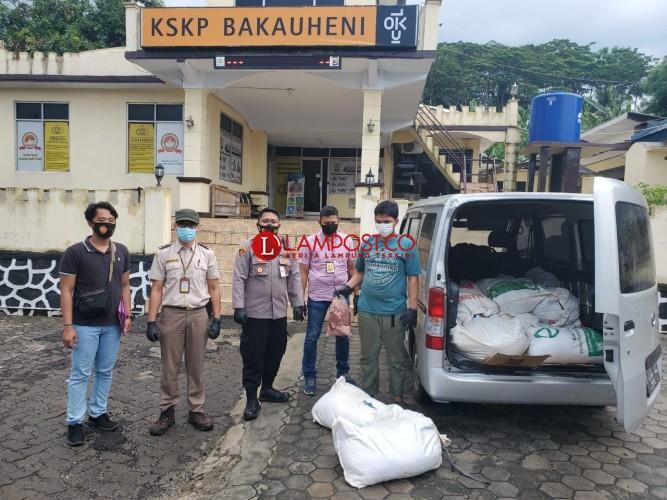Polisi Amankan 700 Kg Daging Celeng di Bakauheni