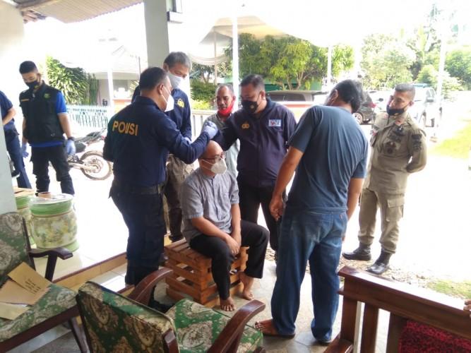 Polisi Ambil Sampel DNA Keluarga Polisi yang Hilang saat Tsunami Aceh