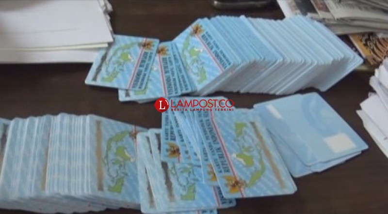 Polisi Bakal Telusuri Penjual KTP-El Online asal Tulangbawang