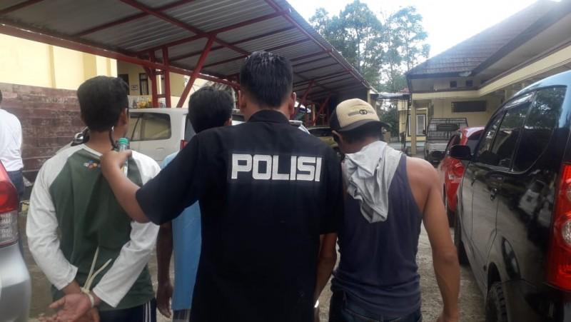 Polisi Bekuk 5 Pemakai Sabu di Tanggamus