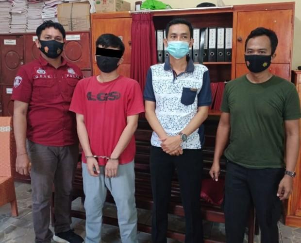 Polisi Bekuk Buronan Perampokan di Lamteng
