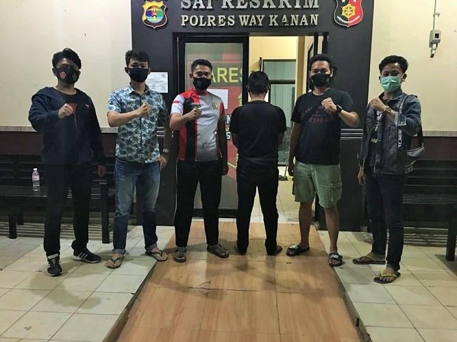 Polisi Bekuk DPO Kasus Perampokan Truk Muatan Bawang di Way Kanan