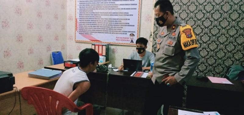 Polisi Bekuk DPO Pencurian Motor di Lambu Kibang