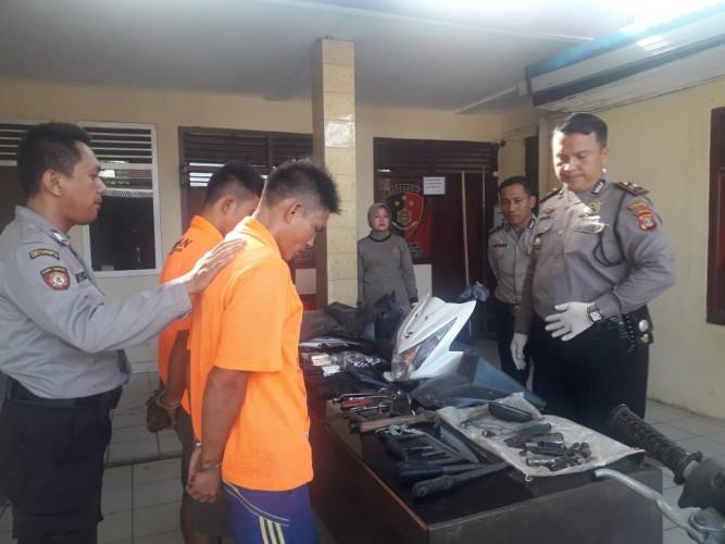 Polisi Bekuk Kawanan Spesialis Pembobol Rumah Kosong