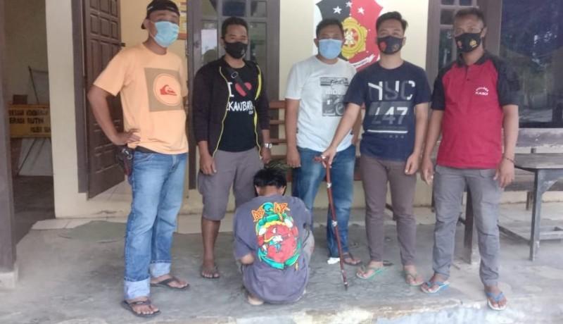 Polisi Bekuk Pembobol Pura Pucak Gunung Sari