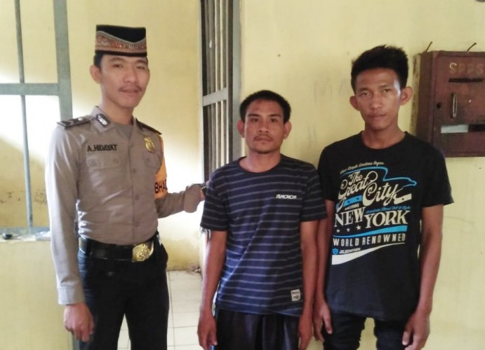 Polisi Bekuk Pembobol Toko di Menggala