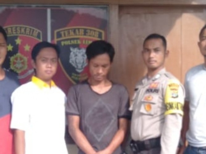 Polisi Bekuk Pembobol Toko di Pekon Lengkukai