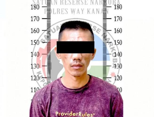 Polisi Bekuk Pengedar Sabu di Blambangan Umpu