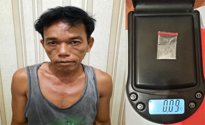 Polisi Bekuk Petani Penjual Sabu di Menggala