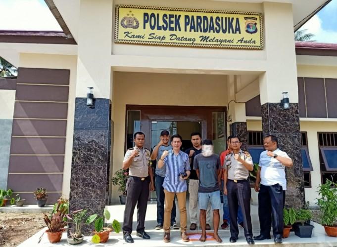 Polisi Bekuk Seorang Pengguna Sabu di Pringsewu