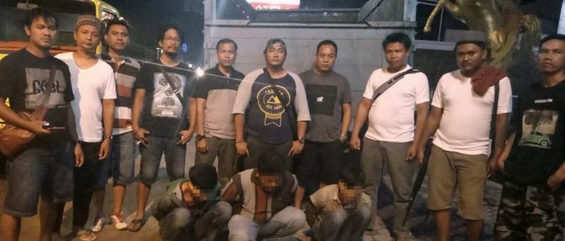 Polisi Bekuk Spesialis Curat Mobil Truk di Tulang Bawang Barat