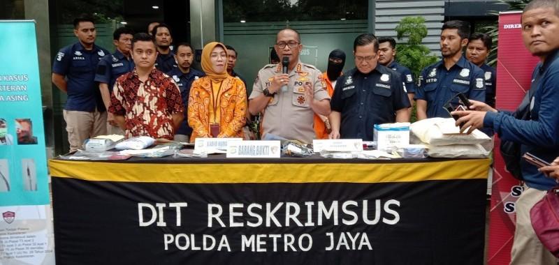 Polisi Bongkar Praktik Dokter Asing Ilegal