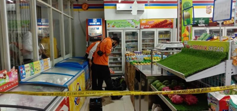 Polisi Buru Kawanan Pembobol ATM Minimarket Katibung