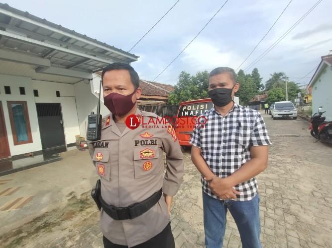 Polisi Buru Pelempar Molotov di Rumah Pegawai PN Tanjungkarang