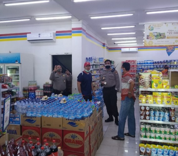 Polisi Buru Pembobol ATM di Indomaret Langkapura