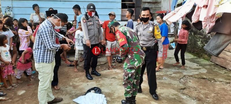 Penemuan Janin di Way Awi Hebohkan Warga Tanjungkarang Barat