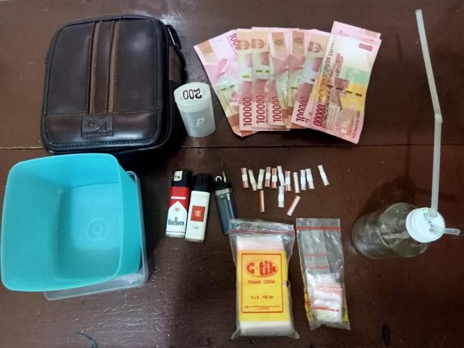 Polisi di Lampung Tengah Tangkap Lima Pemuda Nyabu