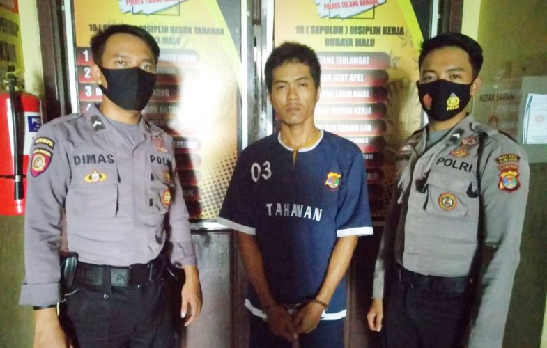 Polisi di Tuba Bekuk Pembobol Sarang Walet