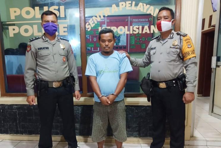 Polisi di Tulangbawang Tangkap Pemuda Peminta Sumbangan