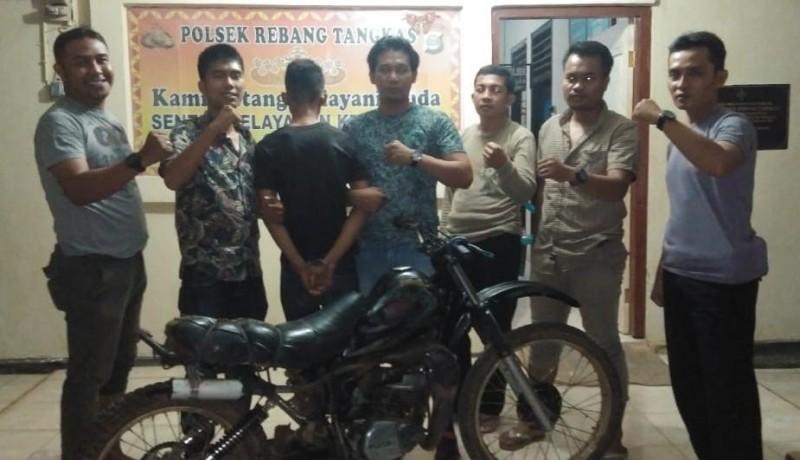 Polisi di Way Kanan Ringkus Pencuri Sepeda Motor