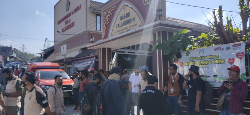 Polisi Gelar Reka Adegan Penikaman Syekh Ali Jaber