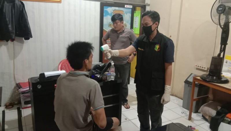 Polisi Gerebek Bandar Sabu di Desa Bumi Agung