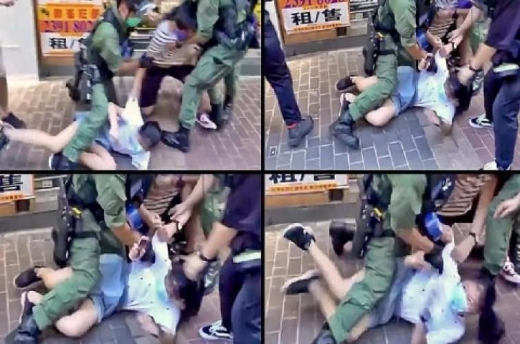 Polisi Hong Kong Dikecam usai Menahan Bocah 12 Tahun