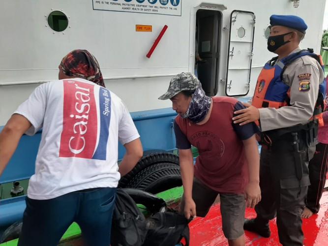 Polisi Identifikasi Korban Perahu Terbalik di Teluk Semangka